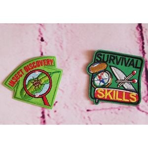 GIRL SCOUT PATCH IRON ON